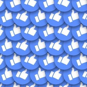 Facebook likes kopen blauwe duim leuk