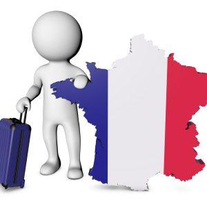 Website Bezoekers Frankrijk